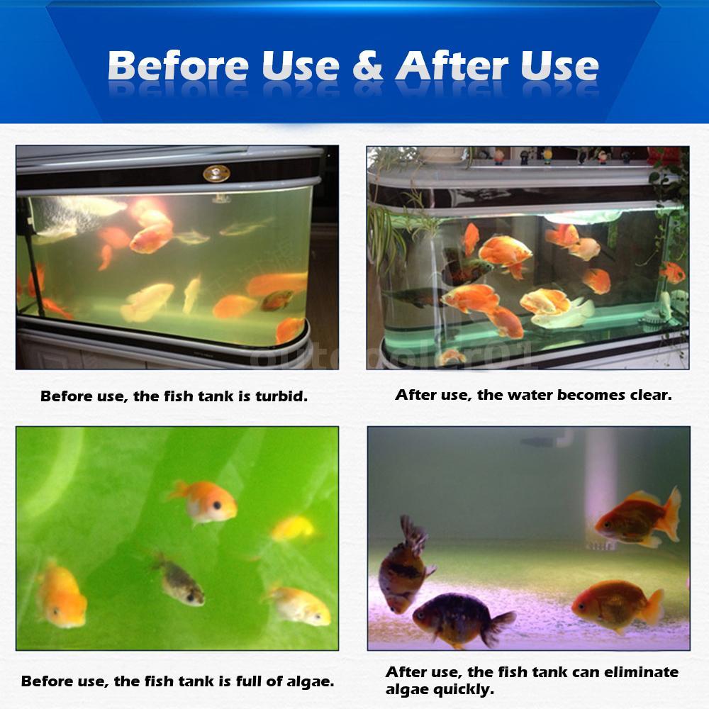 5 7 9 13w uv light sterilizer lamp for aquarium fish tank for Fish tank vs pond