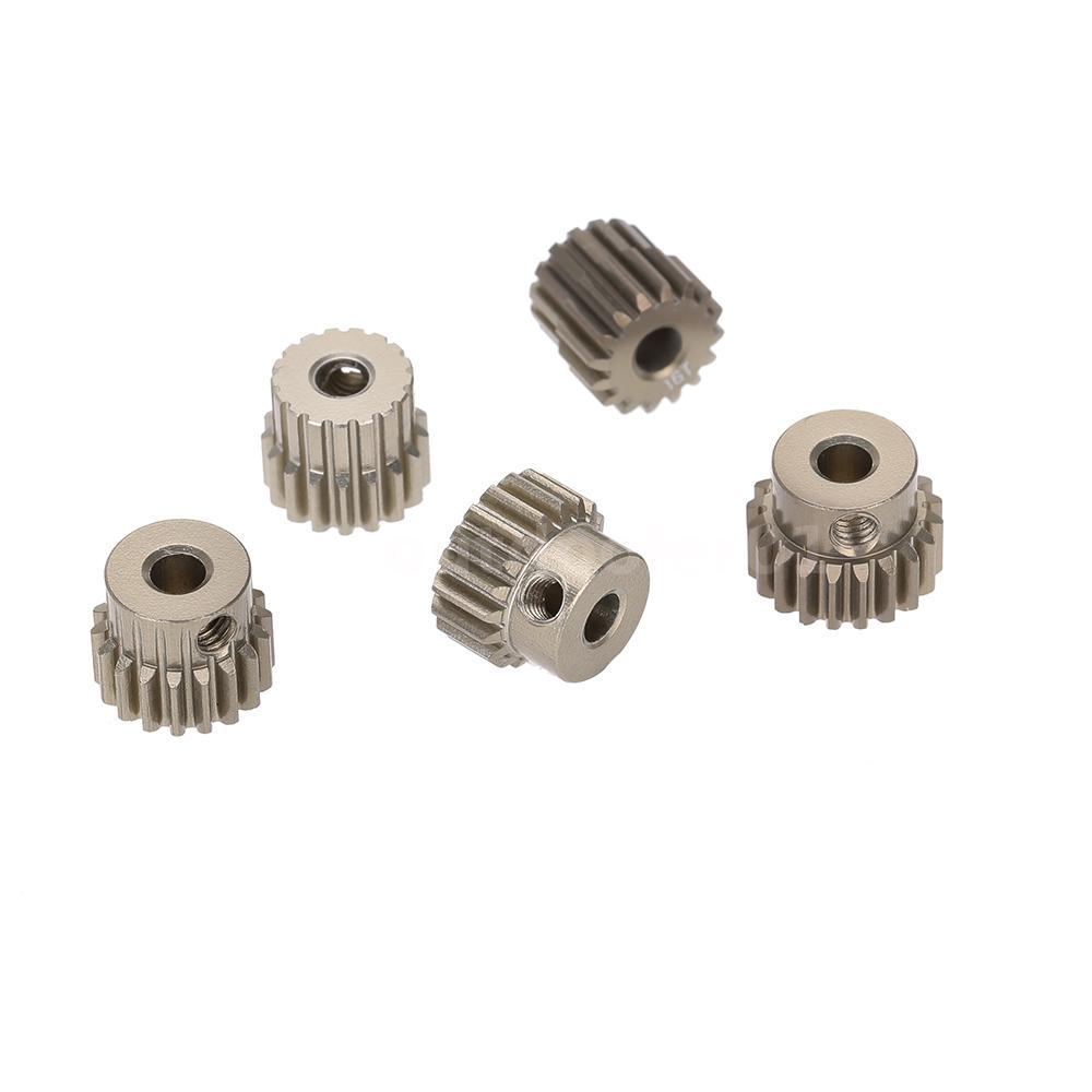 48DP Mit Gewindestift 3.175 mm 16T-38T Motor Ritzel fr 1//10 RC Auto motor